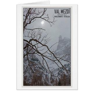 Sella Ronda - Val Mezdi Greeting Card