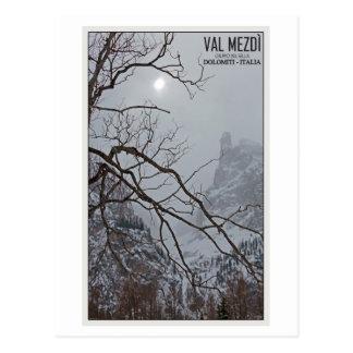 Sella Ronda - Val Mezdi Postcard