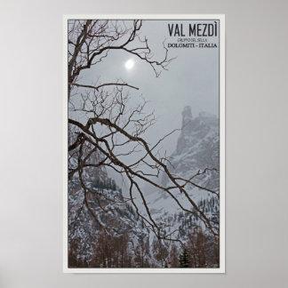 Sella Ronda - Val Mezdi Poster