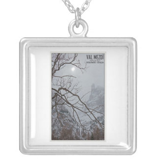 Sella Ronda - Val Mezdi Square Pendant Necklace