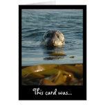 Sellado con una tarjeta del beso