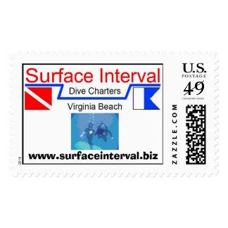 Selle, 39c con el logotipo y buceo con escafandra timbres postales