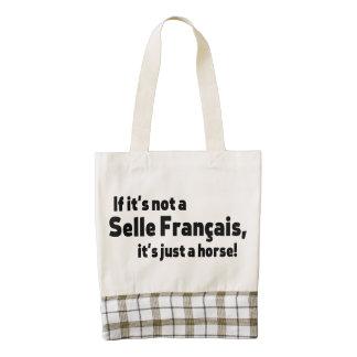 Selle Francais horse Zazzle HEART Tote Bag