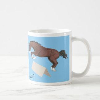 Selle Francais Jumping Horse Mug