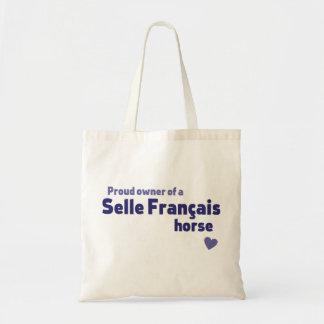 Selle Francais Tote Bag