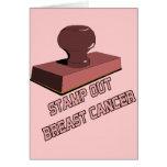 Selle hacia fuera al cáncer de pecho felicitaciones
