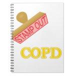 Selle hacia fuera COPD Libro De Apuntes
