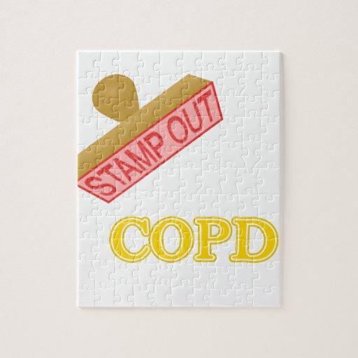 Selle hacia fuera COPD Puzzle
