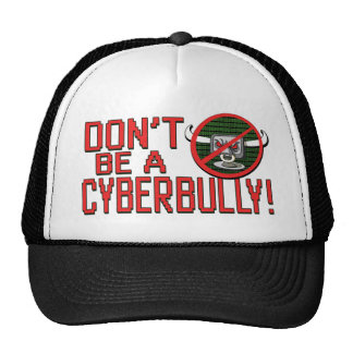 Selle hacia fuera Cyberbullying Gorra