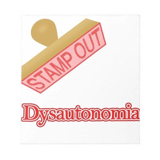 Selle hacia fuera Dysautonomia Bloc
