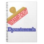 Selle hacia fuera Dysautonomia Libro De Apuntes