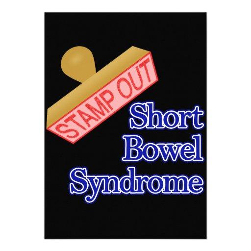 Selle hacia fuera el síndrome corto del intestino anuncio