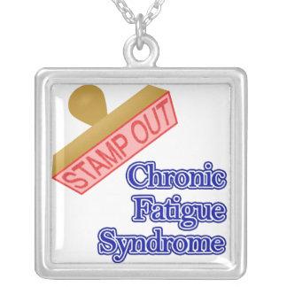 Selle hacia fuera el síndrome crónico del cansanci colgante cuadrado