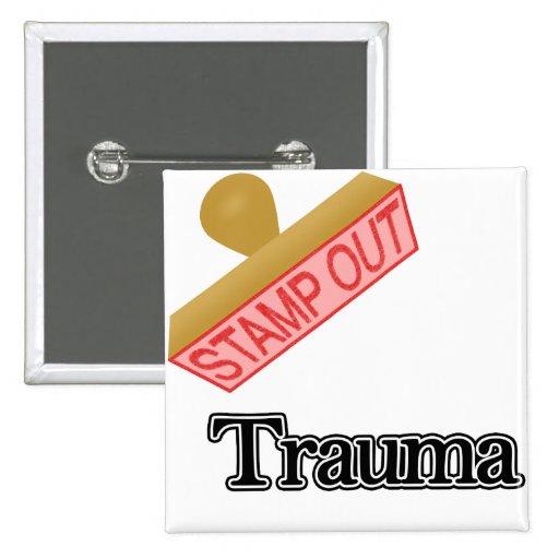 Selle hacia fuera el trauma pins