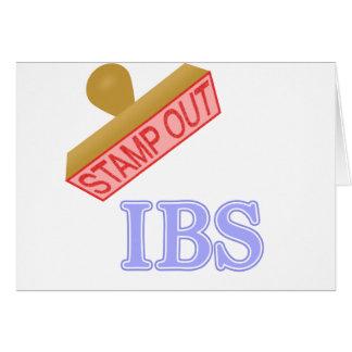Selle hacia fuera IBS Tarjeton