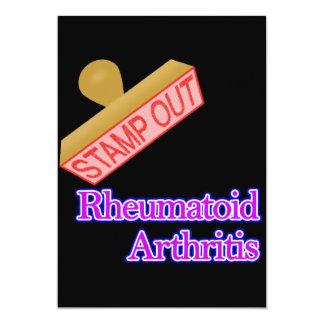 """Selle hacia fuera la artritis reumatoide invitación 5"""" x 7"""""""