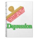 Selle hacia fuera la depresión cuaderno