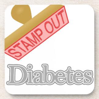 Selle hacia fuera la diabetes posavaso