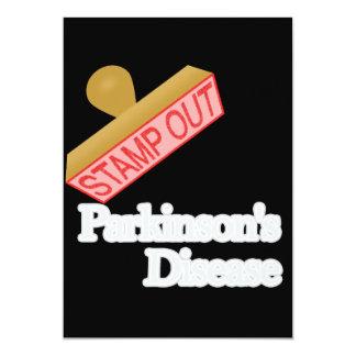 """Selle hacia fuera la enfermedad de Parkinson Invitación 5"""" X 7"""""""