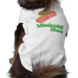 Selle hacia fuera la enfermedad mitocondrial camiseta de perrito