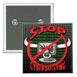 Selle hacia fuera la parada Cyberbullying Pins