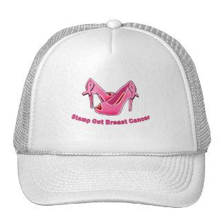 Selle hacia fuera los estiletes del cáncer de pech gorro