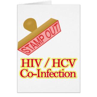 Selle hacia fuera VIH - Co-Infección de HCV Tarjeta Pequeña