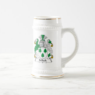 Selleck Family Crest Beer Stein