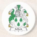 Selleck Family Crest Beverage Coaster