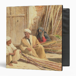Sellers of Sugar Cane, Egypt, 1892 (oil on canvas) 3 Ring Binder