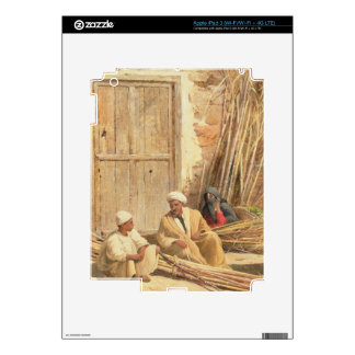 Sellers of Sugar Cane Egypt 1892 oil on canvas iPad 3 Decal
