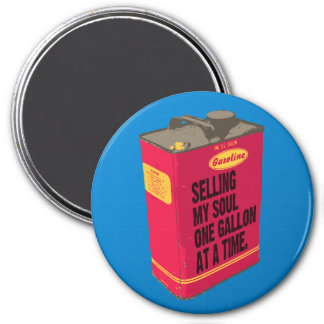 Selling My Soul - Round Magnet