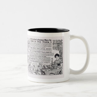 Selling Popcorn Business 1914 Advertisement Two-Tone Coffee Mug