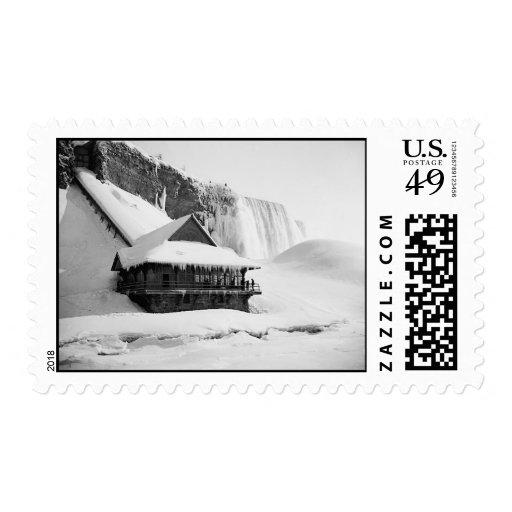 Sello 1901 de Niagara Falls