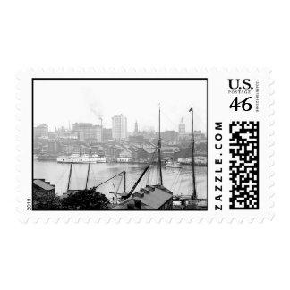 Sello 1903 de Baltimore Maryland