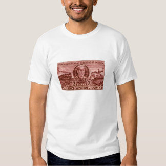 Sello 1950 del ferrocarril de Casey Jones Poleras
