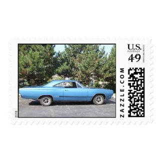 Sello 1968 clásico del coche GTX