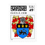 Sello $1,34 del escudo de armas del león