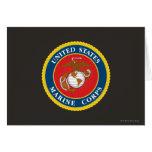 Sello 1 del Cuerpo del Marines Felicitación