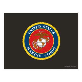 Sello 1 del Cuerpo del Marines Postales