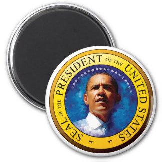 Sello 2009 de presidente Barack Obama Imán