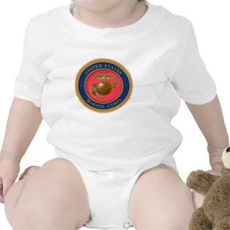 Sello 2 del Cuerpo del Marines Trajes De Bebé