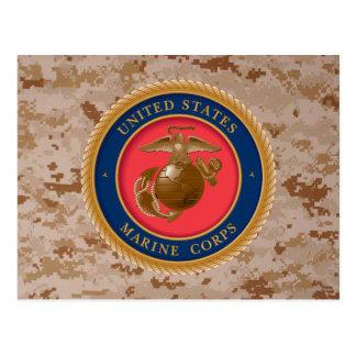 Sello 2 del Cuerpo del Marines Postal