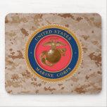 Sello 2 del Cuerpo del Marines Alfombrillas De Raton