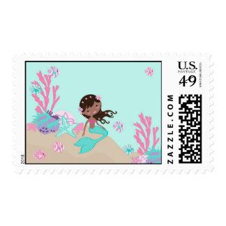 Sello AA de little mermaid