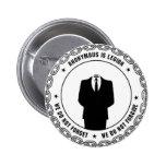 sello anónimo pin