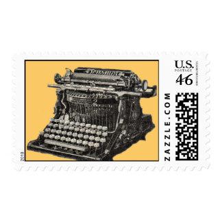 Sello antiguo de la máquina de escribir
