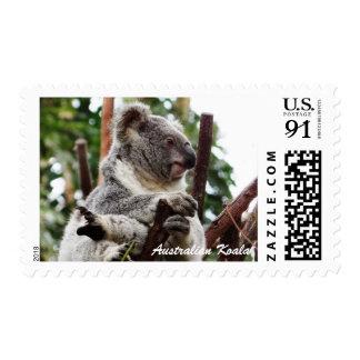Sello australiano del franqueo 89c de la koala