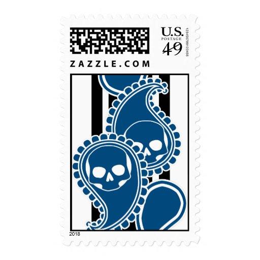 Sello (azul) anverso