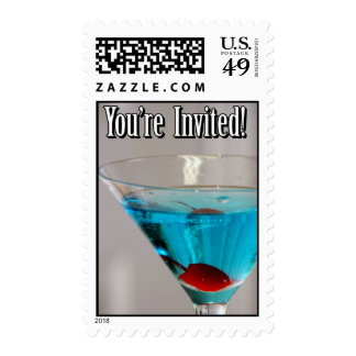 Sello azul de Martini